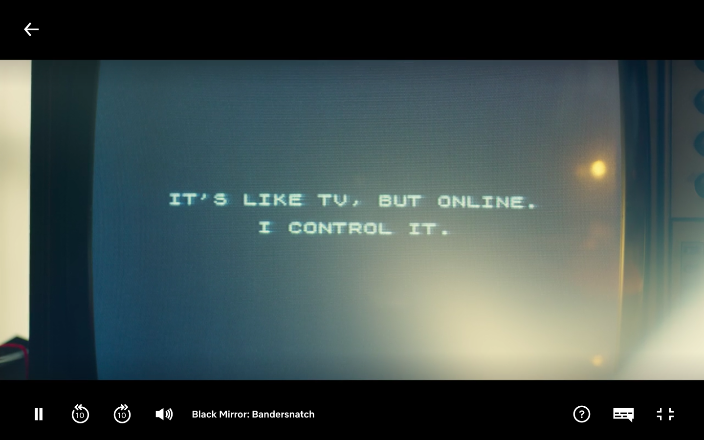 Bandersnatch Screen Shot